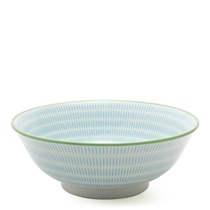"SEN COLORS 7.75"" BOWL - BLUE"