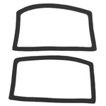 Parking light lens gasket