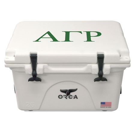 Alpha Gamma Rho White 26 Quart