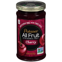 Polaner All Fruit Spread, Cherry - 10oz