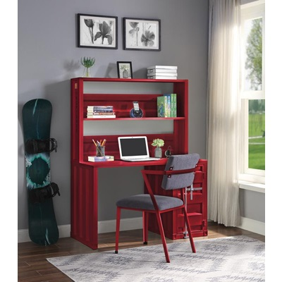 37917 Cargo Writing Desk with Hutch