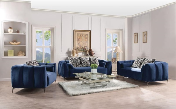Acme Furniture 50435 Sofa W 5 Pillows