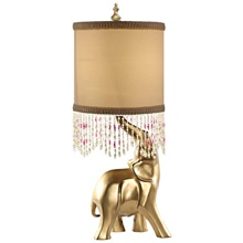 "24.5""H Poetic Wanderlust by Tracy Porter Oro Elephant"
