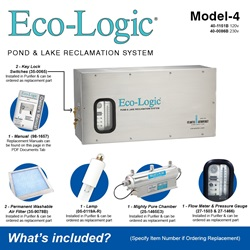 Eco-Logic Model-4 Included Accessories