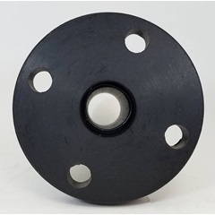 "Back - 2"" Polyethylene Weld Flange Tank Fitting"