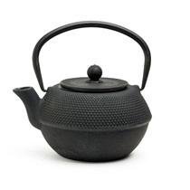 BLACK HOBNAIL CAST IRON TEAPOT - 38 oz.