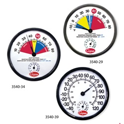 HACCP Wall Thermometers with Humidity Scale (Cooper-Atkins)