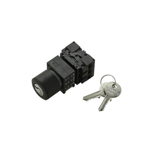 22MM 3 Position Key Select Operator