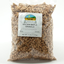 Golden Maple Granola