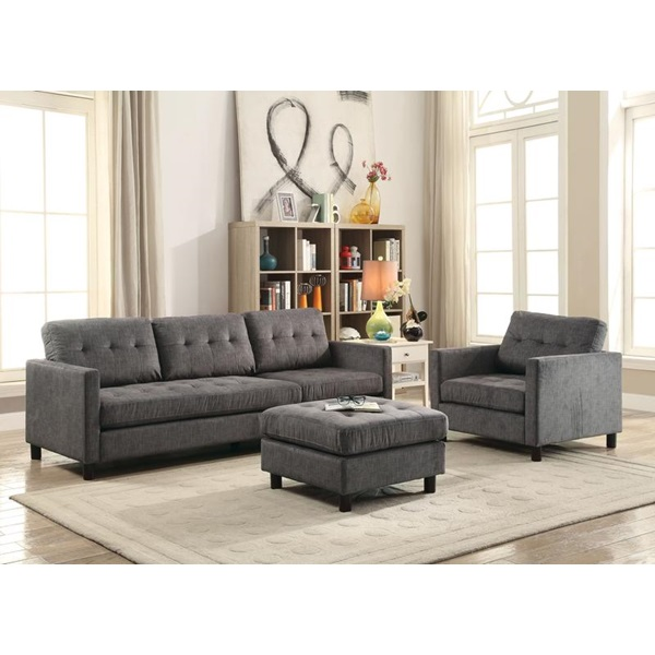 Awe Inspiring Acme Furniture 53315 Caesar Sofa Chair Set Machost Co Dining Chair Design Ideas Machostcouk