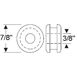 Multi-Purpose Grommet 7/8""