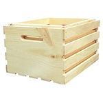 2 Pc. Large Nested Wood Crates (Lrg. & Reg.)