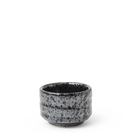 Sake Cup 2.5 oz. Metallic Black