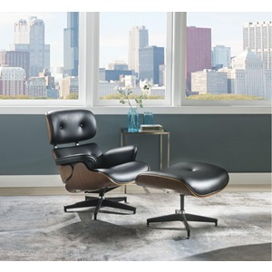 59460 ACCENT CHAIR W/OTTOMAN
