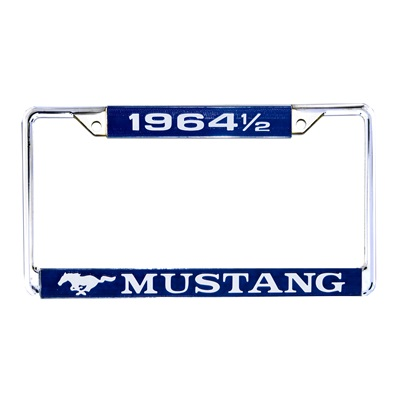 1964 1/2 Mustang Year Dated License plate Frames