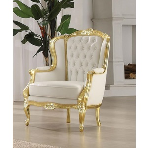 59144 GOLD ACCENT CHAIR