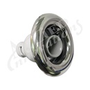 "JET INTERNAL: 5"" WHIRLPOOL NON-ADJUST GRAY / BLACK WITH METAL ESCUTCHEON"