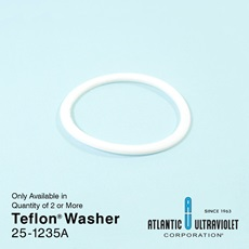 Teflon® Washer: 22mm Quartz