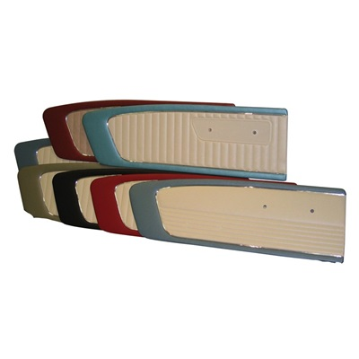 1966 Door Panels (Blue/White Pair)