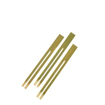 Bamboo Fruit Forks 3.5""
