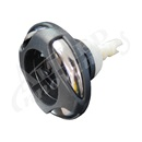 "JET INTERNAL: 3-5/8"" POLY STORM ROTO SWIRL,  STAINLESS STEEL / DARK GRAY"