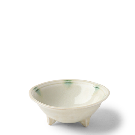 "Dotted Ivory 4.75"" Sauce Bowl"