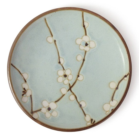 "Spring Blossoms 4.75"" Plate"