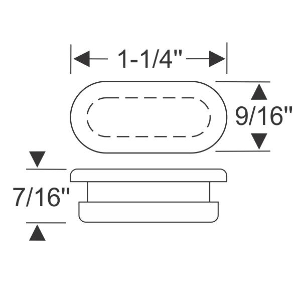 Steele Rubber Products - Brake adjustment hole plug