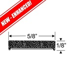 "1/8"" x 5/8"" Rectangular Peel-N-Stick"