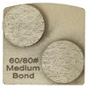 Double Dot Medium Bond 60/80 Grinder Tooling Compatible with Husqvarna® Redi Lock®