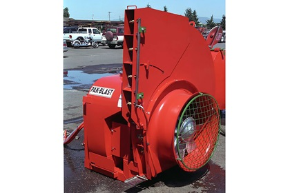 "Rears Single Side Tree Volute for Pak Blast Sprayer With 28"" Fan"