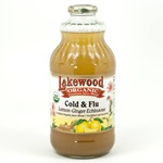 Lemon/Ginger/Echinacea Juice (Lakewood), Organic - 32oz