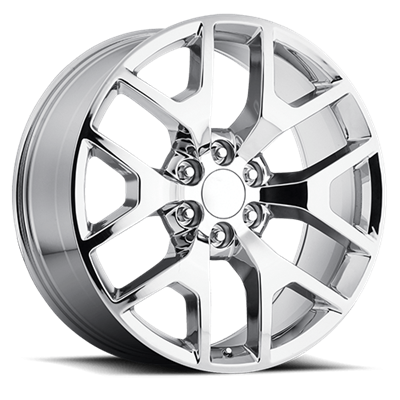 OE Replica 586 Series 24x10 6x139.7 - Chrome
