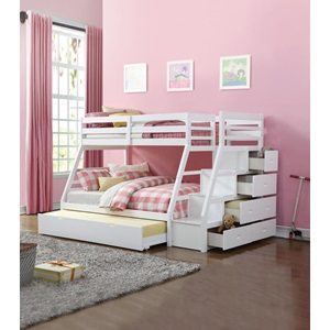 37105 JASON BUNK BED & TRUNDLE