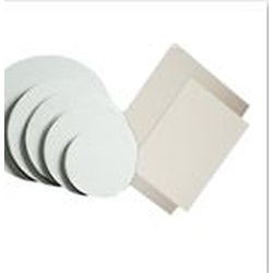 14 X 10 WHITE COATED CAKE PAD, 1/4 SHEET, 100/CS