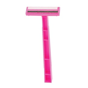 Quality® Lightweight Twin Blade Razor for Women, Lubricant Strip