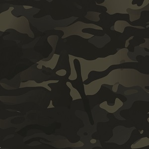 Multicam Black Camo Lid Black 40 Quart