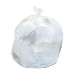 "40 x 48"" 17 MICRON 40-45 GALLON NATURAL CAN LINER,"