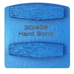 Double Hex Hard Bond 30/40 Grinder Tooling Compatible With: Husqvarna® Redi Lock®