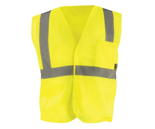 High Visibility Value Mesh Standard Safety Vest