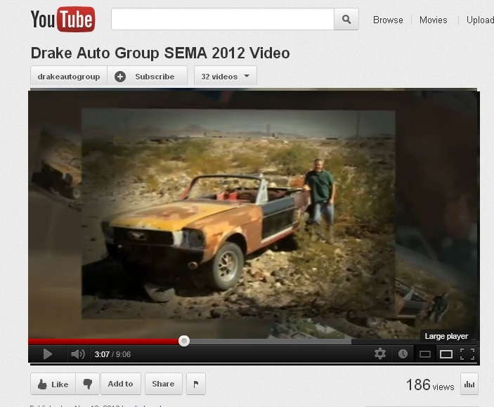 Check out Drake Automotive Groups special 2012 SEMA Video!