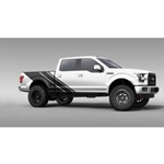 Rally Stripe Truck Graphics (satin black)