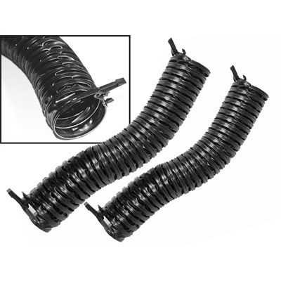 1964-68 Mustang & 1966-77 Bronco Defroster Hoses (with cam-locks)