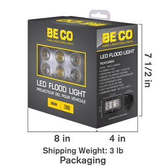 Spot Light - 6 Cree LEDs