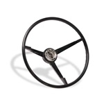 65-66 Standard Steering Wheel (Black)