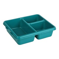 Cambro 9113CP414 Meal Delivery Tray 3-Compartment