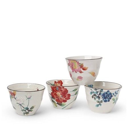 Floral Summer 7 Oz. Teacup Set