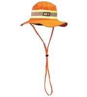 Orange w/Lime Ranger Hat