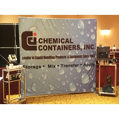Display of CCI's Fertomax & Blue-White Injection Systems