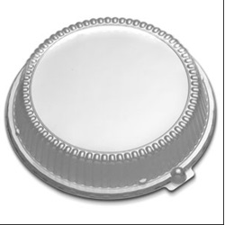 "10.25"" CLEAR HIGH DOME LID, 200/CS FOR 10.25 BLACK PLATE   CL210-100"